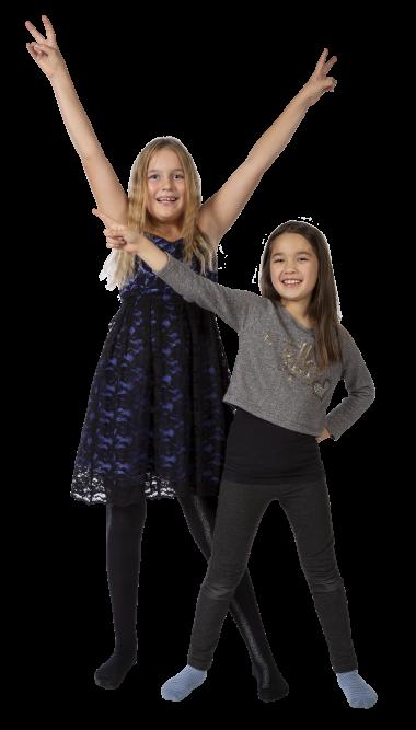 Dansande tjejer