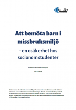 Rapport: Socionomstudenters utbildning