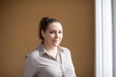 """Gabriella Degerfält Hygrell, projektledare """"Ludde"""""""