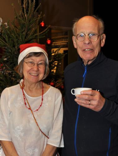 Lotta Nordh och Kalle Nilsson